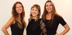 Andrea, Natalia y Marlén