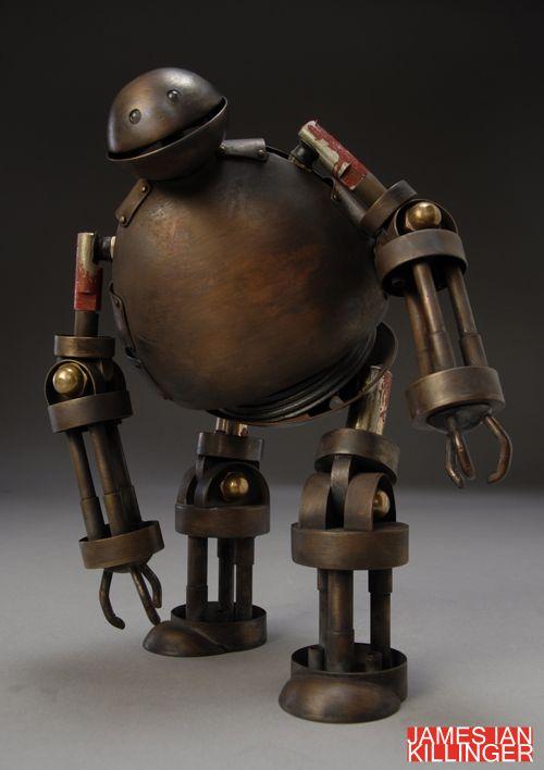 James Ian Killinger: James Of Arci, Goth Toys, Ian Killing, Sweet Robots, Art Toys, Fancy Art, Comic Books, James D'Arcy, James Ian