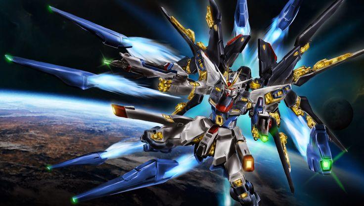 Strike Freedom Gundam Image via CyR Gundam wallpapers