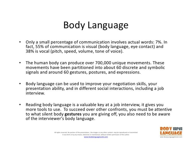 What Are Good Examples of Body Language? – Psychology ...