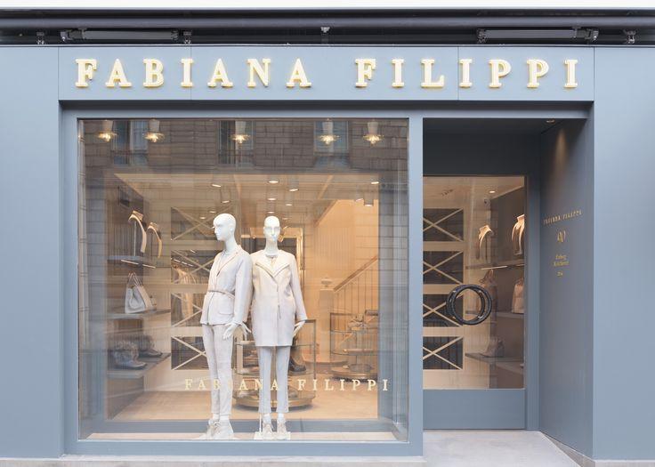 Paris. Front window. #Paris #France #fashion #fabianafilippi #store #flagship