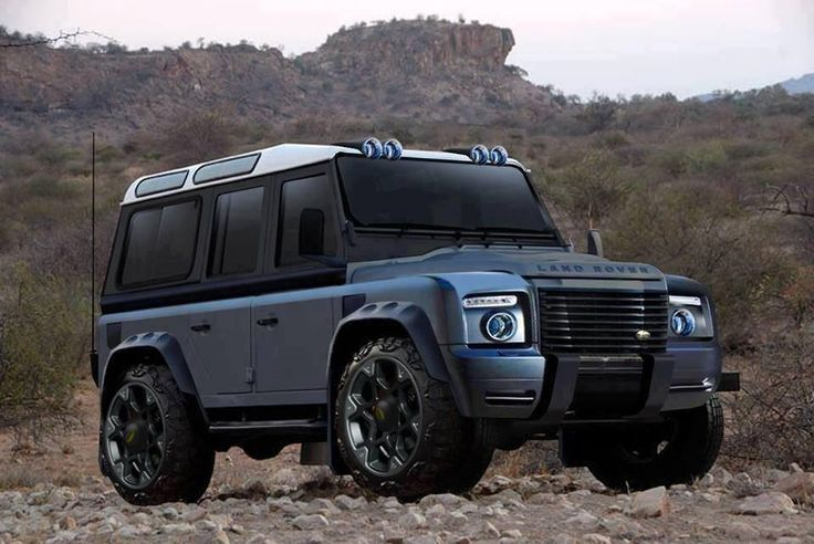 New Defender Prototype revealed? - Expedition Portal