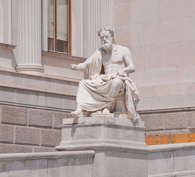 Estatua de Jenofonte en Viena