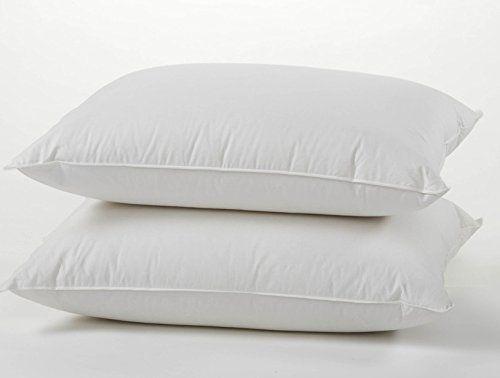 premium quality european 800 fill power 100 white goose down pillow set 100