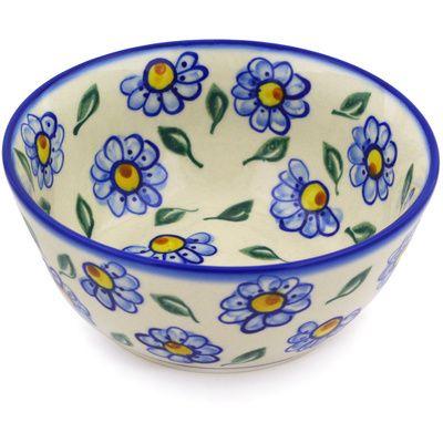 Polish Pottery 6-inch Bowl | Boleslawiec Stoneware | Polmedia H9437F