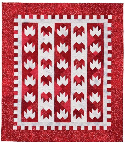 Canadian Winter quilt