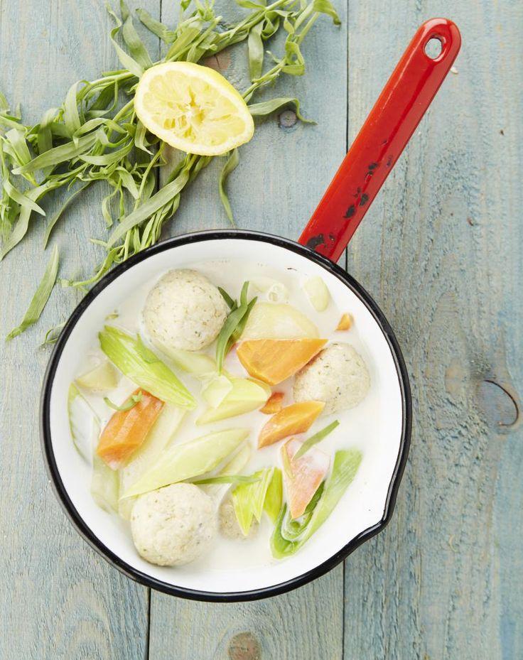 Recept: Waterzooi met vegetarische balletjes