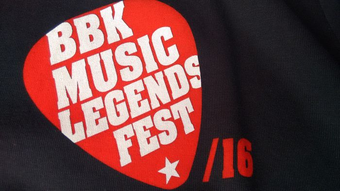 Logo del BBk Music Legends Fest 2016