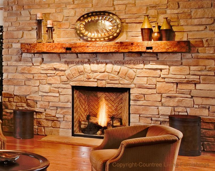 pictures of brick fireplace decorations with library paneling - Google Search