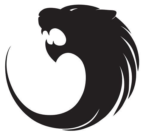 Black Lion Tattoo Design