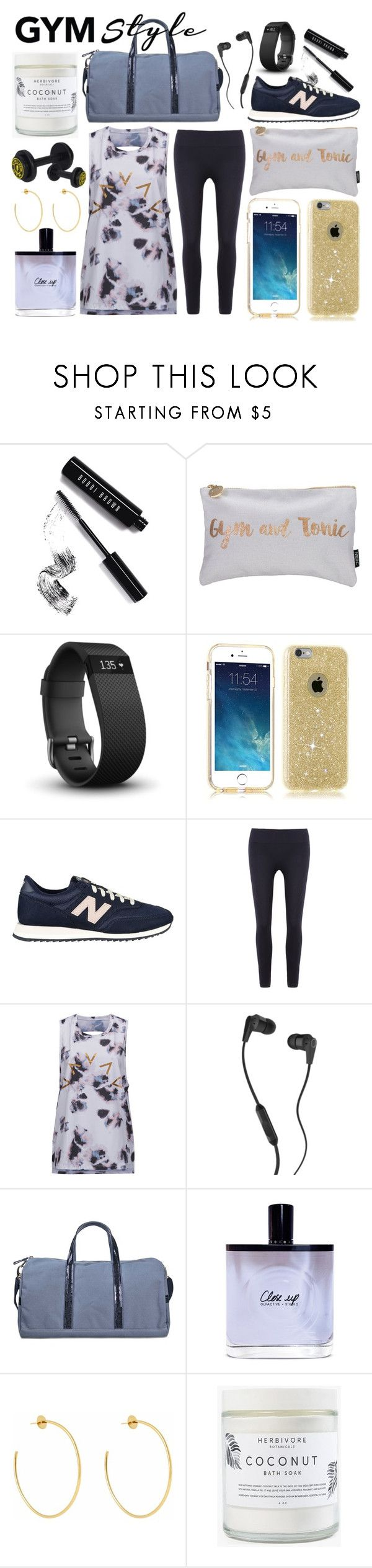 """805"" by robertaelisa ❤ liked on Polyvore featuring Bobbi Brown Cosmetics, Nails Inc., Fitbit, New Balance, Varley, Skullcandy, Vanessa Bruno, Olfactive Studio and Herbivore"