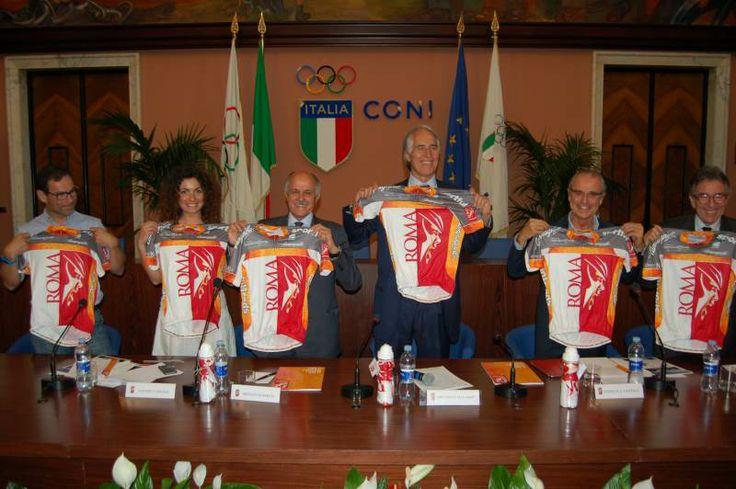 Le immagini della conferenza stampa della #granfondoroma 2014 (Roma, 04 giugno 2014)