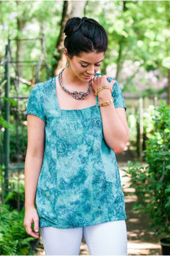 Palisade Batik Top | ShopGoFish.com