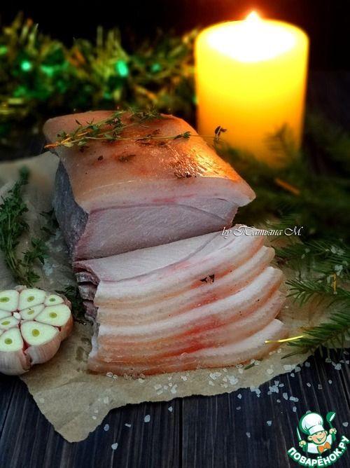 Новогодняя корейка по технологии су-вид - кулинарный рецепт