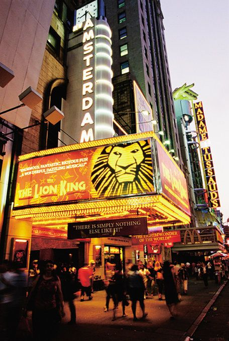 Broadway Theater District, NYC