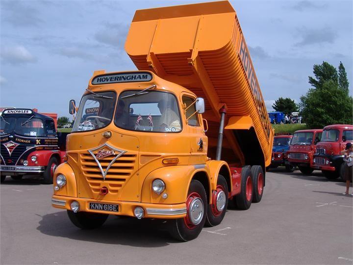 Vintage british truck