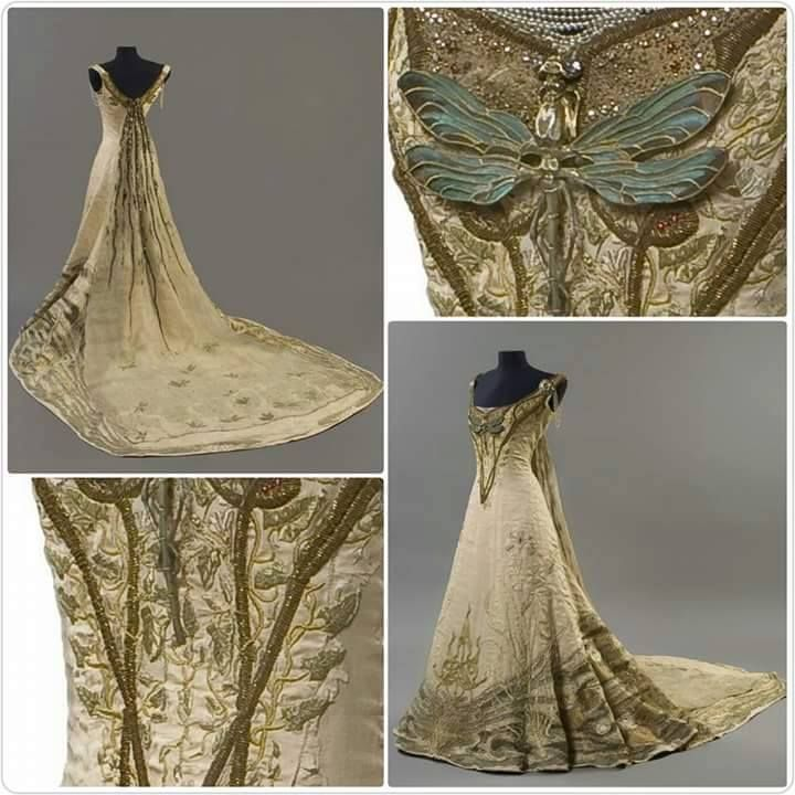 Fairie dress! By Victor Prove 1901,France.