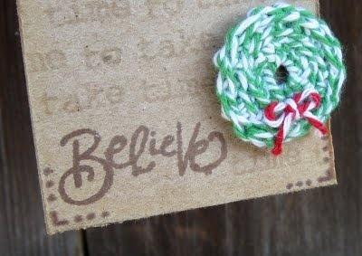 The Twinery: Crocheted Twine Wreath
