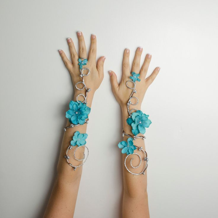 Turquoise arm cuffs - set of 2 by Frecklesfairychest on Etsy https://www.etsy.com/listing/237971704/turquoise-arm-cuffs-set-of-2