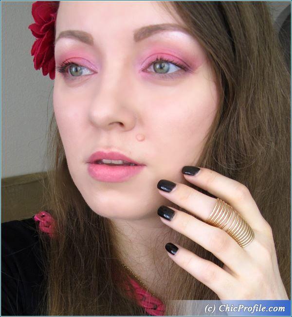 Having Fun with a Pink Makeup