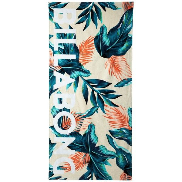 Billabong Sunset Sounds Towel (Multi) Bath Towels (125 BRL) ❤ liked on Polyvore featuring home, bed & bath, bath, bath towels, tropical bath towels and billabong