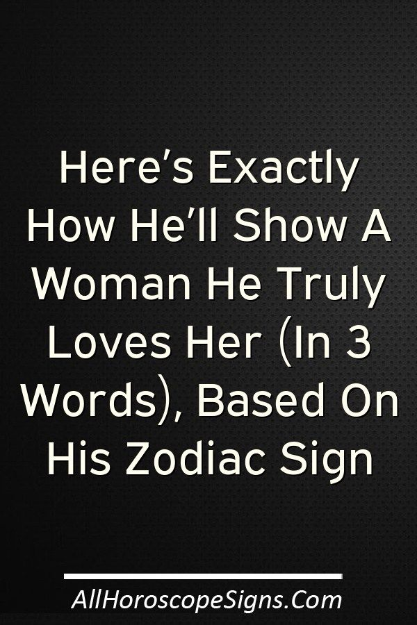 Youve Heard Of Love Languages Before But Now Take A Look At Love Signs If