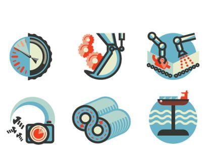 Some recent spot Illustrations for Wired UK.