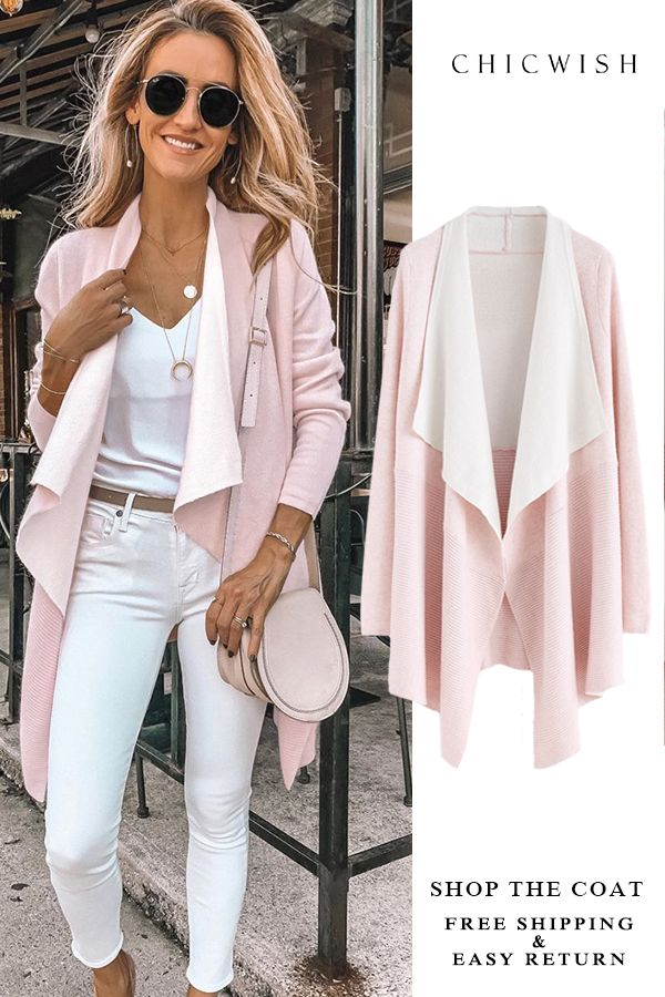 3802d9822 Up to 30% Off. Soft Blush Ribbed Hem Drape Cardigan featured by  karinastylediaries