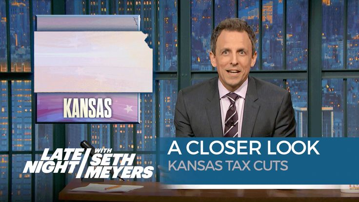 Kansas Tax Cuts: A Closer Look with Seth Meyers. Gov Brownback cut taxes on the rich and small biz and now the Kansas is broke.