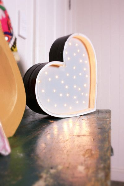 petite vegas letter lights, the perfect nightlight for children. Children's decor, children's lighting, nursery nigjhtlight, nurseries, kid's spaces, heart light, lightning bolt light, star light, cloud light and more!