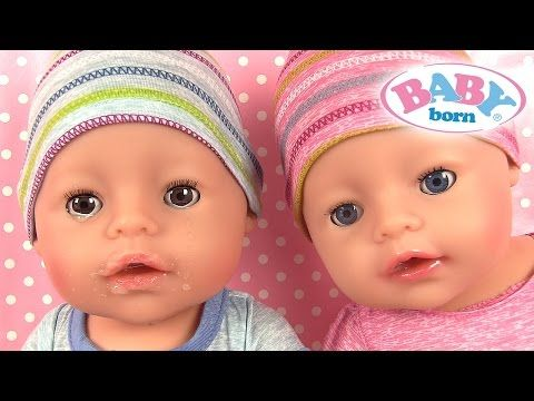 Poupée Baby Born Garçon Interactif Poupon et Accessoires Vêtements - YouTube