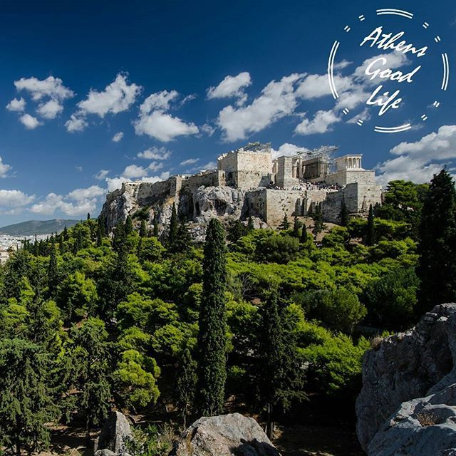 "@Areopagus Hill: In Ancient Greek, πάγος (pagos) means ""big piece of rock"". #AthensGoodLife #CityBreakAgenda #visitAthens  Photo @TobiasVanDerElst"