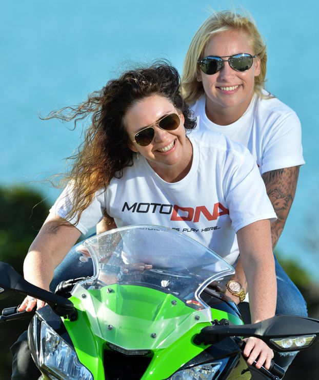 INFO EVENING FOR NEW WOMEN MOTORCYCLISTS