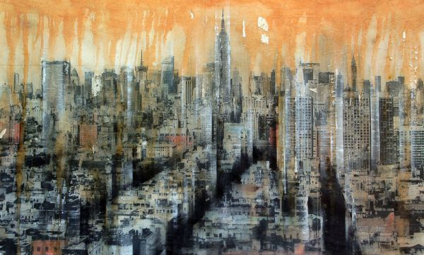 Cityscapes and buildings painted beautifully by Dario Moschetta   Creative Boom Blog   Art, Design, Creativity