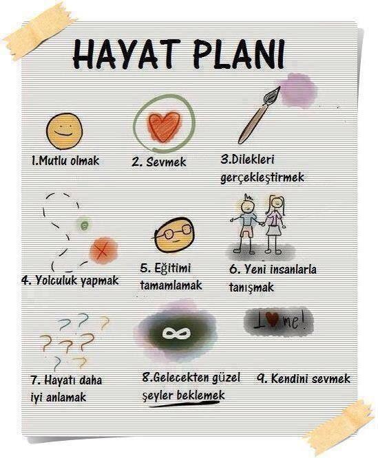 hayat planı