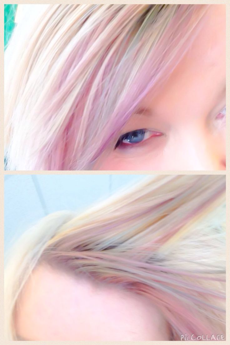 Instamatic from Wella  Pastel hair 3 colours