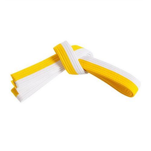 Sabuk Beladiri Warna Putih Kuning