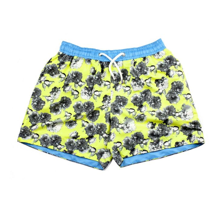 IBIZA FLORAL SHORTS | Our printed Ibiza floral shorts are named after one of the best party destinations in Spain. At Thomas Royall, we've tried to capture that summer feeling in our designer swim shorts inspired by the famous Balearic Island. Shop the collection at thomasroyall.com
