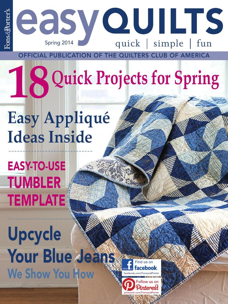 Easy Quilts Spring 2014 Digital Issue by New Track Media