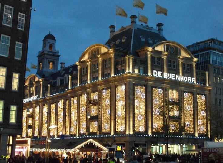 **De Bijenkorf (high end department store, food hall) - Amsterdam, The Netherlands