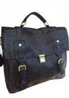 LeVan -- Top Grain Cowhide Leather Business/Messenger Bag $89.95