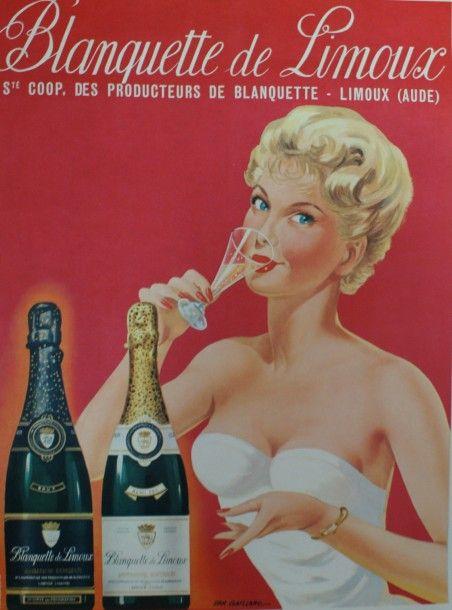 Blanquette de Limoux - 1955 - (Emmanuel Gaillard) -