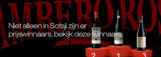 Niet alleen in Sotsji zijn er winnaars, ook bij ons is het podium bezet met prijswinnaars: http://vinaio.nl/Beoordelingen-Ratings/Gambero-Rosso-3-bicchieri