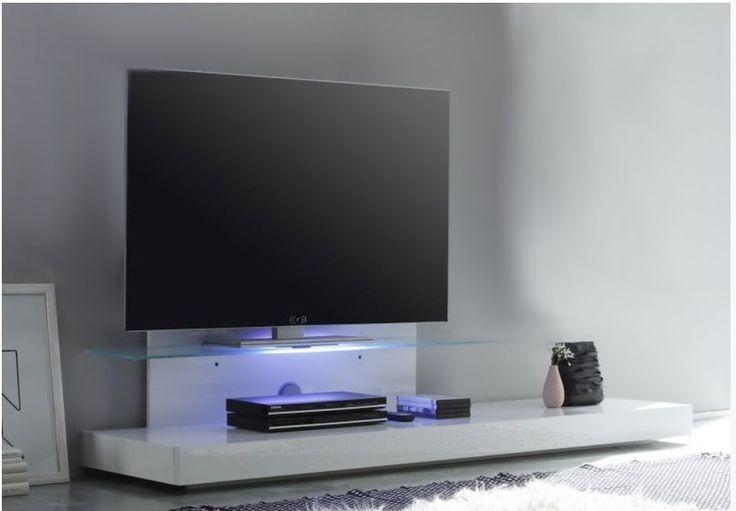 Porta tv moderno Bali, mobile soggiorno in 4 colori, base tv di ...