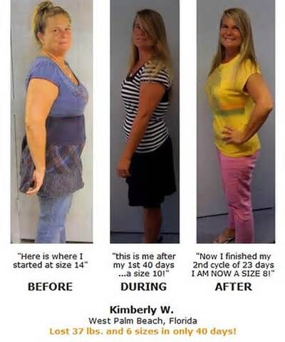 Hcg Diet Weight Loss Results In 40 Days Get Fit