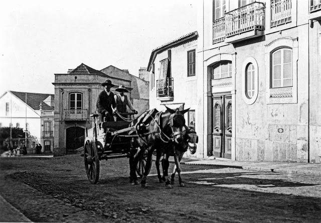 Lisboa de Antigamente: Rua (Direita) do Lumiar
