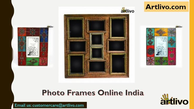 Order Photo Frames Online in India with amazing designs that are created by skilled artisans. Frame will provide a stunning accent to your home decor and with its simple yet classy design. Photo are our memories which we can store in Frames. Save your Beautiful memories in collage or gift it to your Dear once. To Checkout Photo Frames Designs Online visit: https://www.artlivo.com/table-decor/photo-frames