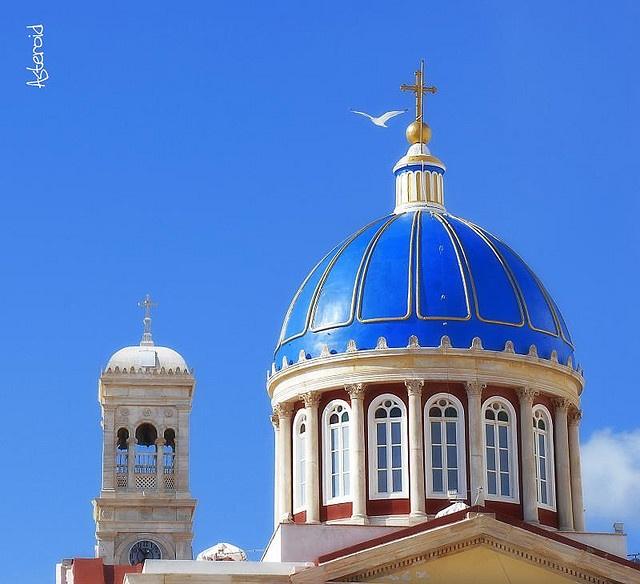 The St. Nicholas dome, Syros