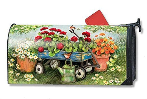 Mailbox Covers  Geraniums by the Dozen LARGE Magnetic Mailbox Cover Outdoor Living ** This is an Amazon Associate's Pin. Find similar products on the website by clicking the image.