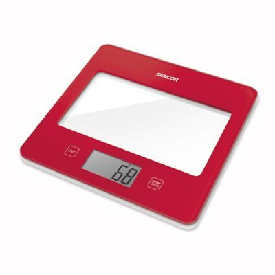 The Sencor Ultra Slim Digital Kitchen Food Scale boasts a sleek, modern design equipped to accurately weigh both wet and dry ingredients in ounces, pounds, fluid ounces, grams, kilograms and milliliters. Features a large, tempered glass surface.